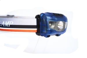 3 AAA Batteries Portable 5W LED 180 Lumens LED Head Lamp (Blue) pictures & photos