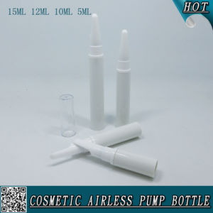5ml 10ml 12ml 15ml Cosmetic Airless Pump Bottle for Eye Serum Cream pictures & photos