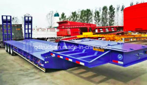 High Quality 3 Axles Low Bed Semi Trailer From China Supplier pictures & photos