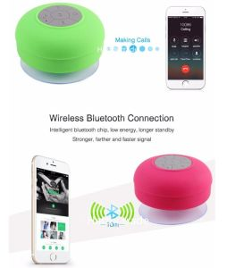 Portable Waterproof Sucker Speaker Mobile Phone Music Player Bluetooth Speaker pictures & photos