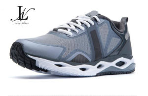 Mesh and Leather Sports Shoes (SP-028) pictures & photos