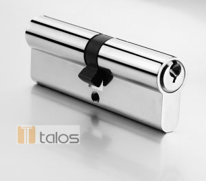 En1303 Euro Double Cylinder Lock Chrome Plating pictures & photos
