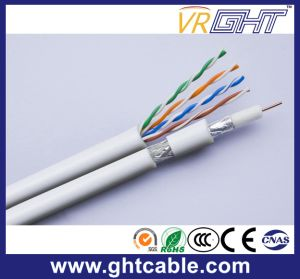 Composite Siamese Coaxial Cable Syv-75-3+2cord pictures & photos