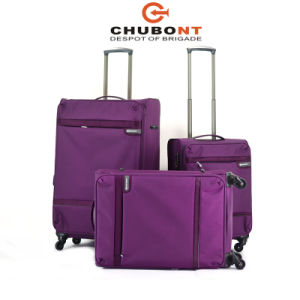 Chubont High Qualilty Hot Selling 4 Wheels Fashion Travel Suitcase pictures & photos