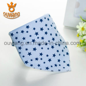 Hot Newest Design High Quality Promotional Bandana Baby Bib 100% Organic Cotton pictures & photos