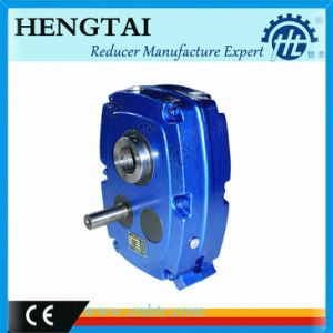Hxgf Serise Shaft Mounted Gear Reducer Ratio 5: 1 13: 1 20: 1 pictures & photos