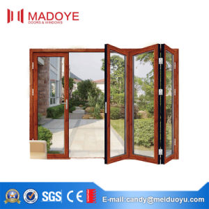 European Style Classical Heavy Duty Bi Fold Door pictures & photos