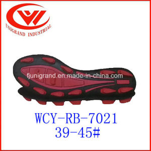 2017new Fashion Rubber Outsole with Soccer Shoes Making pictures & photos