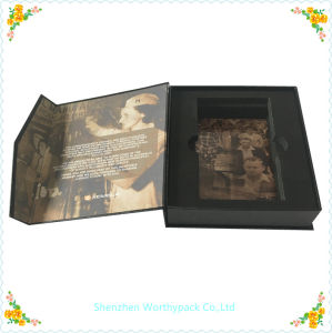 Folding Styled Cardboard Gift Box with EVA Tray Interior