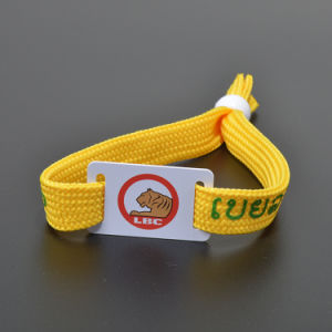 Stylish Access Control RFID Wristband Tag with Screen Printed Customized pictures & photos