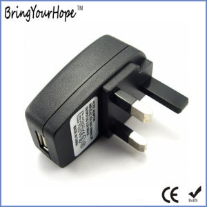 UK Plug USB Adapter (XH-UC-012) pictures & photos