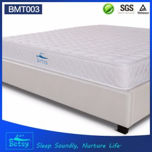 OEM Resilient Bonnell Spring Mattress 20cm with Soft Foam Layer and Cashmere Knitted Fabric pictures & photos