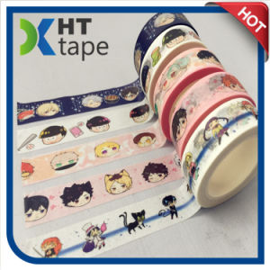 Washi Paper Tape Adhesive Decorative Masking Tape pictures & photos