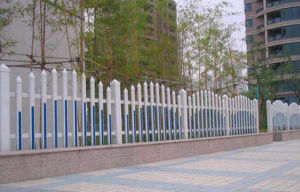 Steel Fence Made up of Zinc for Outdoor Use pictures & photos