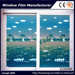 New Design Easy Removable Glass Film Self Adhesive Frosted Decorative Window Film pictures & photos