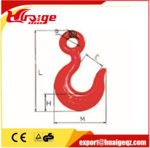 Lifting Sling G80 Eye Self Locking Safety Hook pictures & photos