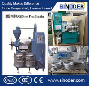 Oil Making Machine 6yl-80 Peanut Screw Oil Press Machine pictures & photos