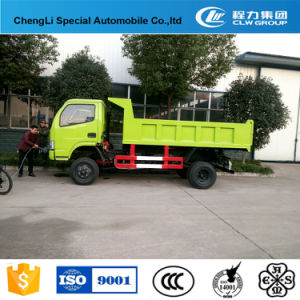 Customized Dongfeng 4*2 Mini Dump Truck for Sale pictures & photos