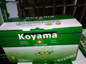 Koyama Manufacturing Korea Quality Global Car Battery 58827mf-DIN88 pictures & photos