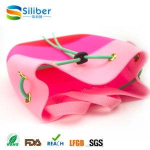 Eco- Friendly OEM Design Small Size Ladies Silicone Beach Bag pictures & photos