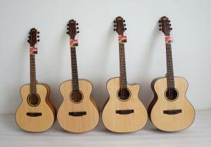 Hot Sale Travel Size Taylor GS Mini Body Acoustic Guitar pictures & photos