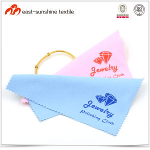 Custom Logo Microfiber Jewelry Polishing Cleaning Cloth pictures & photos
