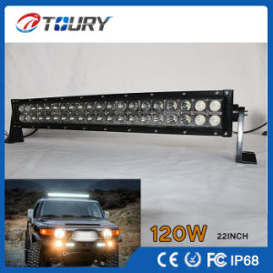 120W CREE 21.5 Inch Flood Spot IP68 LED Light Bar (TR-BC120) pictures & photos