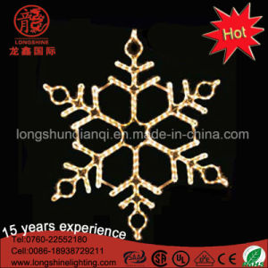 Outdoor LED 2D Snowflake Christmas Outdoor Decorative Light for Events Decoration pictures & photos