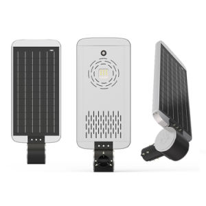 All in One Integrated Waterproof IP67 Lithium Battery Solar Powered 40W LED Street Lamp pictures & photos