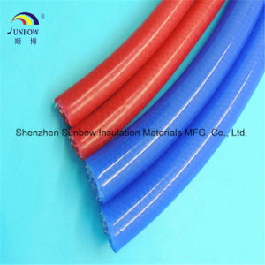 Silicone Rubber Tube with Glass Fiber/Polyester pictures & photos
