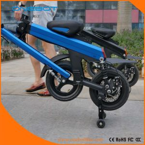 12 Inch Aluminum Alloy Smart Folding Mobility Scooter with APP., Ce/FCC/RoHS Certificates pictures & photos