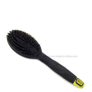 Export Plastic Hair Brush with Boar Bristles Nylon of Factory Wholesale pictures & photos