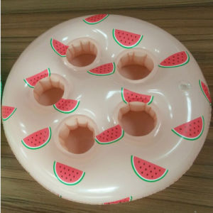 New Design 5 Holes Inflatable Watermelon Drink Holder for Party pictures & photos