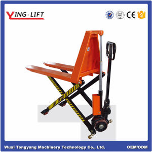 Electric Hydraulic High Lift Scissor Truck pictures & photos