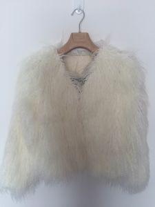 Pure Fake Fur Coat, White, Warm, Fashion pictures & photos