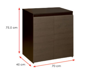 Wooden Wardrobe /Nightstands /Shoes Case /Side Cabinet (HX-DR076) pictures & photos