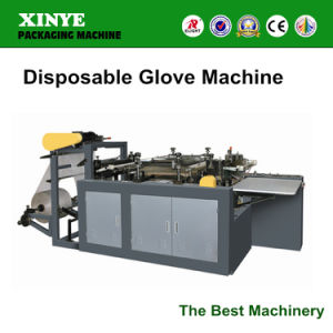 Best Quality Plastic Hand Gloves One Time Use Making Machine pictures & photos