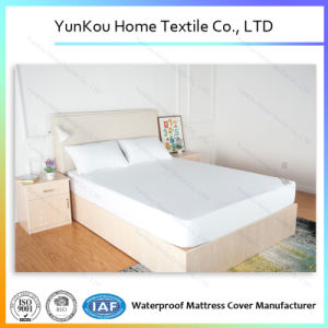 Good Quality Polyester Machine Washable Waterproof Mattress Cover Factory Price pictures & photos