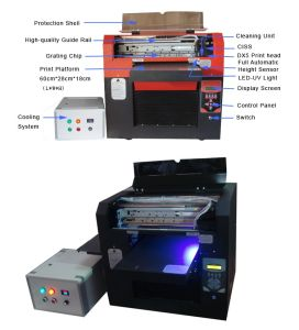 A3 Size 6 Colors UV LED Printing Machine pictures & photos