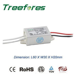 12W DC 12V 24V IP65 LED Power Supply Ce RoHS pictures & photos