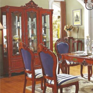 Wood Wine Cabinet / Two Doors Wine Cellaret (A859) pictures & photos