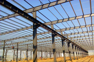 China Prefabricated Steel Frame Warehouse Construction Price pictures & photos