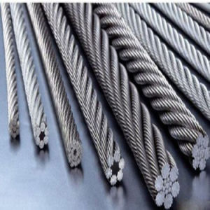 Round Strand Stainless Steel Wire Rope Wire Line pictures & photos