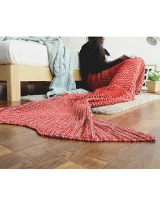 Knitted Sea-Maid Sleeping Bag Mermaid Tail Blanket Fish Tail Blanket pictures & photos