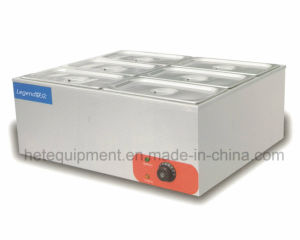 Electric Table Top Bain Marie with Six Pans pictures & photos