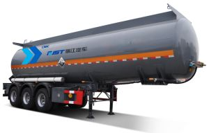 3 Axle Liquid Tank Semi Trailer/Fuel Tank pictures & photos