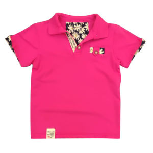 Wholesale Boy Polo Shirt for Children′ S Wear pictures & photos
