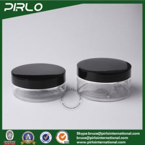 150g 200g Transparent Pet Jar with Plastic or Metal Screw Lid Food Storage Jar Cosmetic Mask Jar Multifunctional Plastic Jar Item Pet Plastic Jarcapacit pictures & photos