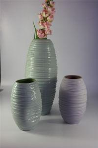 High Quality Handmade Color Glazed Ceramic Vase pictures & photos