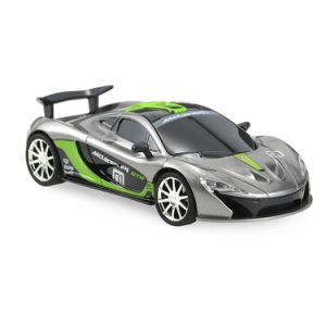0122229-2.4G 2CH 1/43 Remote Control Mini Racing Car with Simulate Voice Vehicle Toy pictures & photos